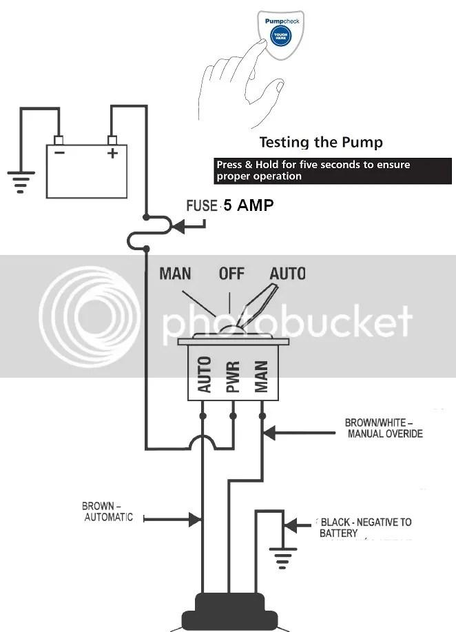 Rule Mate RM500A Automatic Bilge Pump RM500 500 GPH