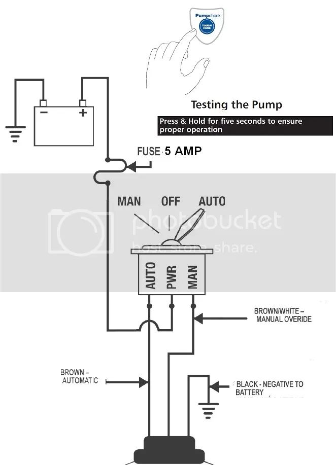 wiring diagram for rule mate bilge pump