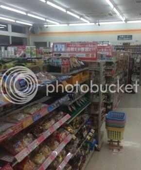 Bagian dalam minimarket