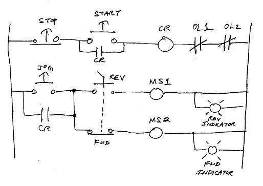 wiring diagram for reversing motor starter 5 pin trailer plug enco 12x36 lathe contactor box needed