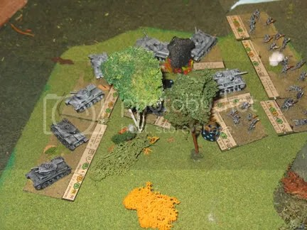 10/12mm Germans in Buck Surdu's France 1940 game based for Look Sarge, No Charts rules