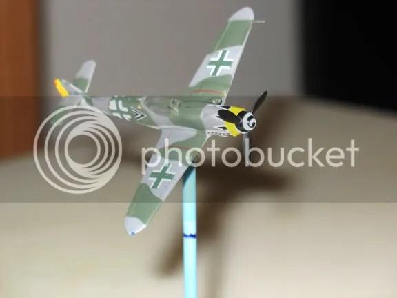 Takara Bf 109K-4 in a sharp right bank