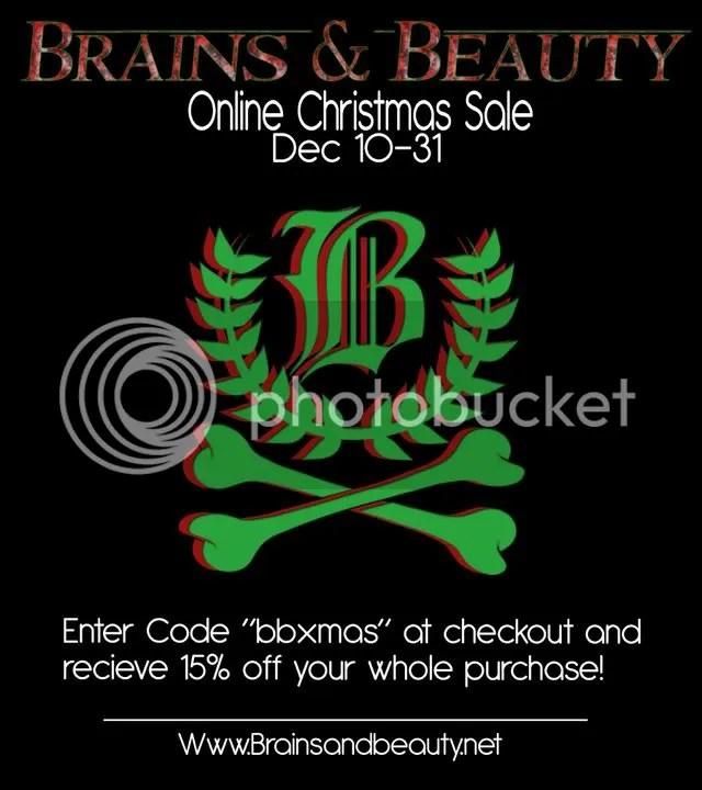 Brains & Beauty Xmas Sale