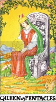 Queen of Pentacles Pictures, Images and Photos