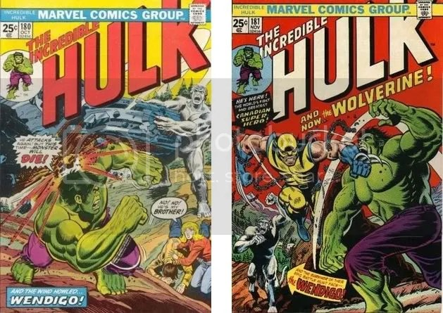 Incredible Hulk #180 y #181