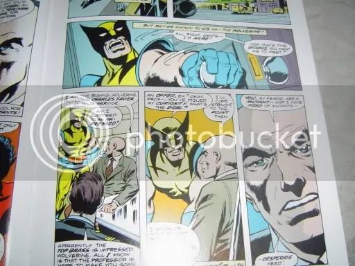 Charles recluta a Wolverine en su primera aparición en un comic de los X-Men (Giant-Size X-Men #1)