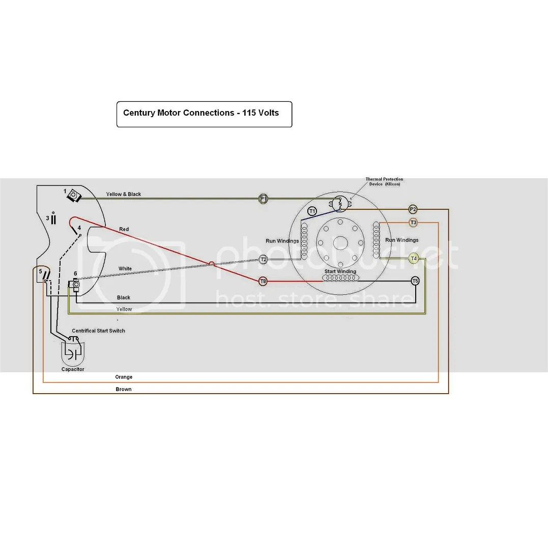 century ac motor wiring diagram 115 volts vw mk4 headlight switch 220 volt reversable page 5 the home machinist
