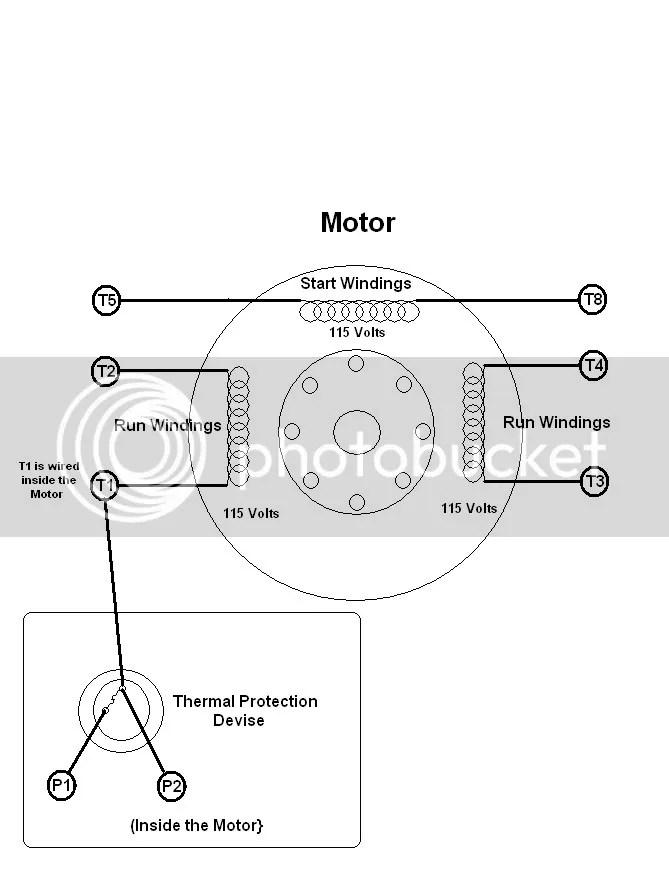 Dayton Capacitor Start Motor Wiring Diagram