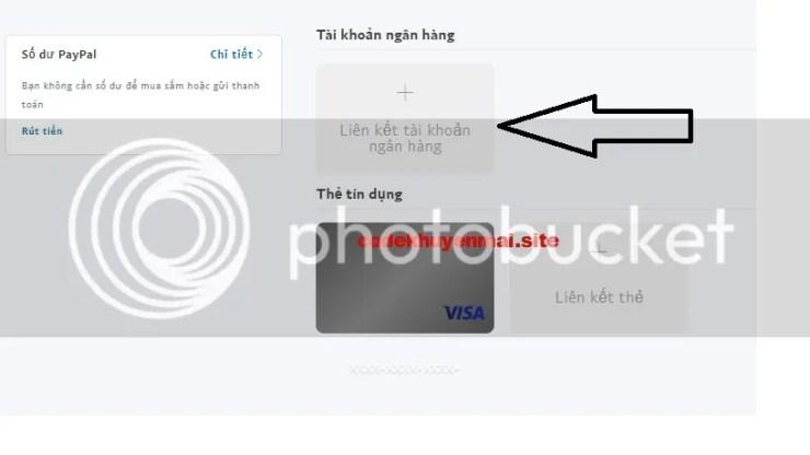 hướng dẩn thêm tài khoản TIMO vào PayPal