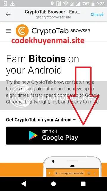 free bitcoin CryptoTab android