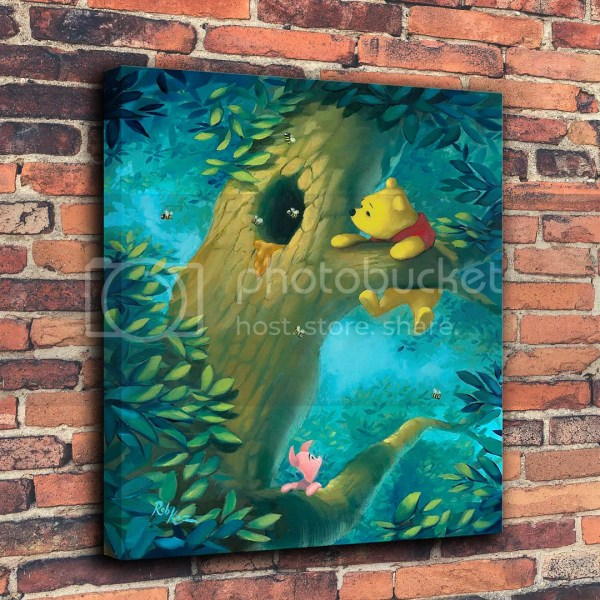 Winnie the Pooh Canvas Painting
