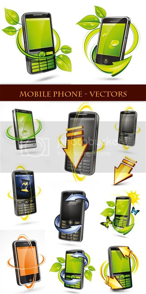 Stock Vector - Mobile Phone