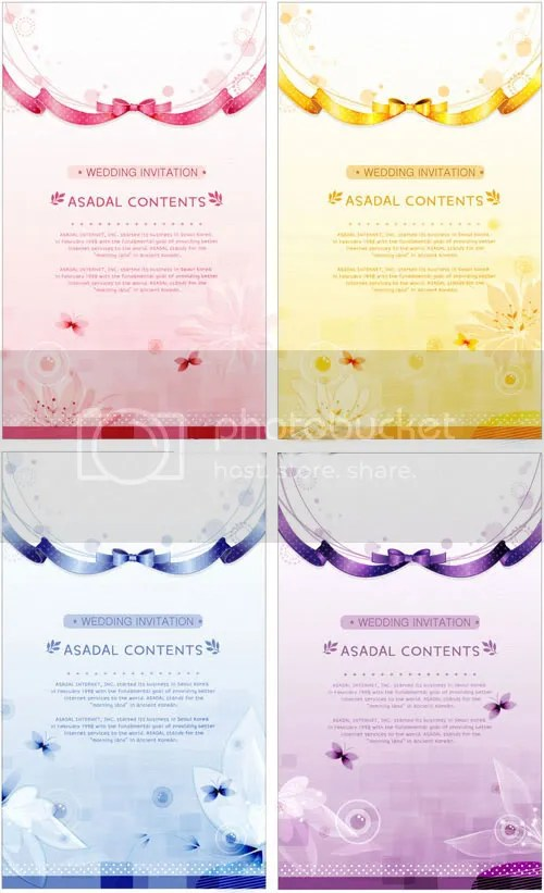 Stock Vectors - Wedding Invitations