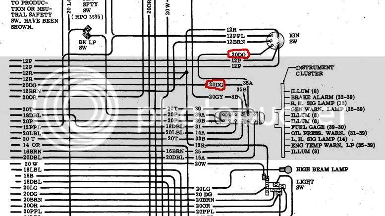 67 camaro ignition wiring diagram