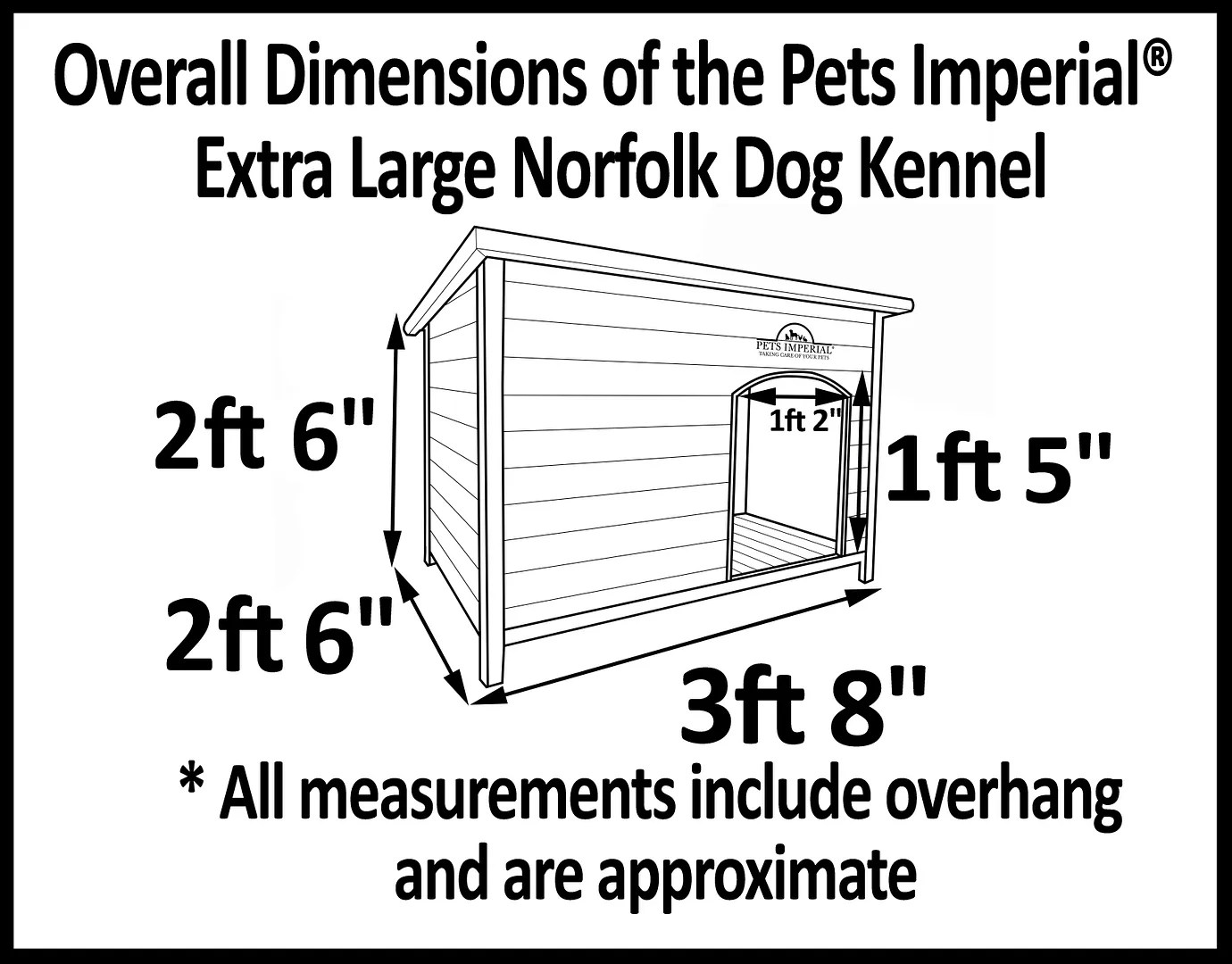 Extra Large Norfolk Dog Kennel Kennels House With
