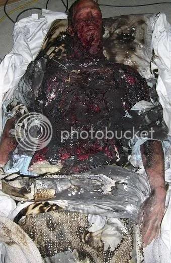 Paul Walker Charred Body