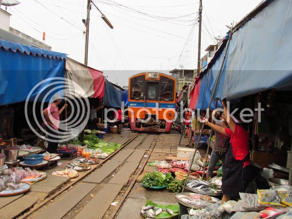 Trein Thailand