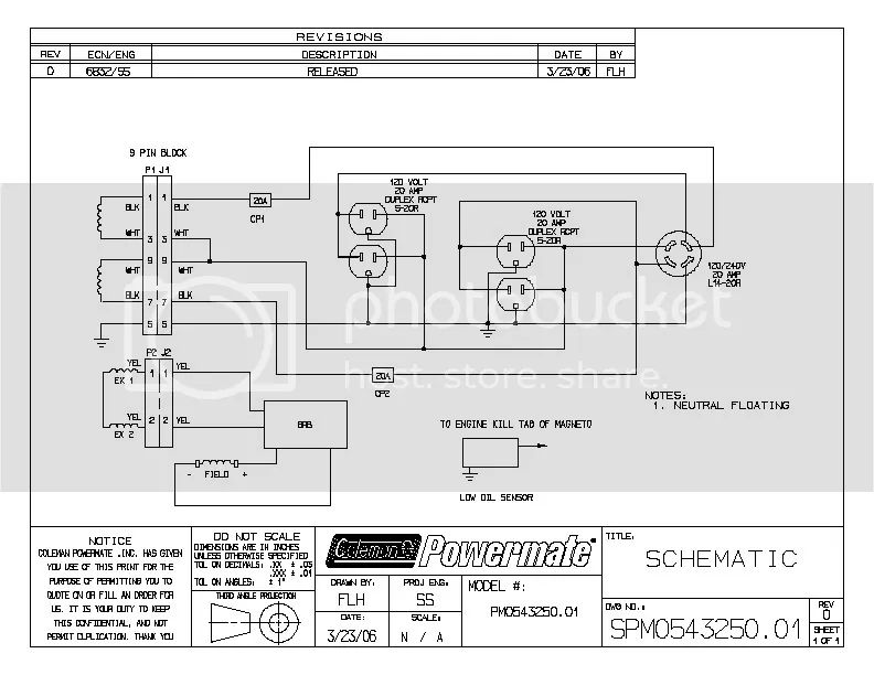 generator head wiring diagram