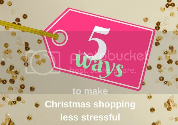 Great tips for making your Christmas shopping less stressful