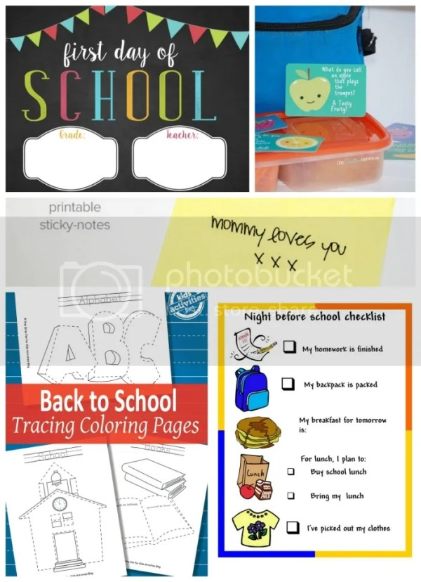 Back to School Printables to help you prepare (pin this so you don't lose it!)