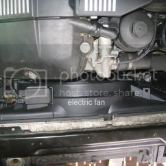 Automotive Electric Fan Wiring Diagram Sony Xplod Cdx Gt170 Mechanical To Swap Automatic S Doityourself However It Is An Electrical Powered And Depends On The Alternator Battery For Power