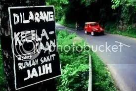Dilarang Kecelakaan...???