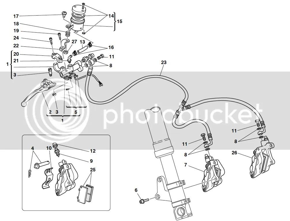 Ducati 748 748R 916 996 998 1098 Front Brake Reservoir