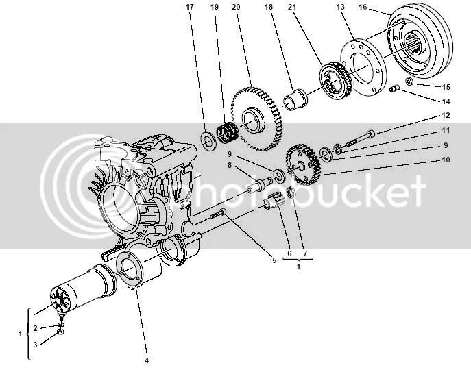Ducati Sprag Clutch Drive Flange
