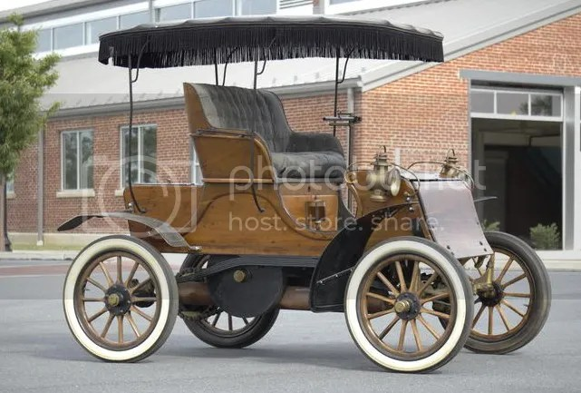 1903 Knox Model C Single Cylinder 8hp Runabout