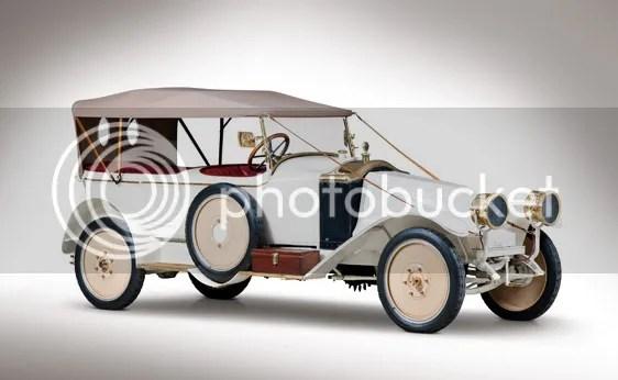1919 Renault Type EU Torpedo