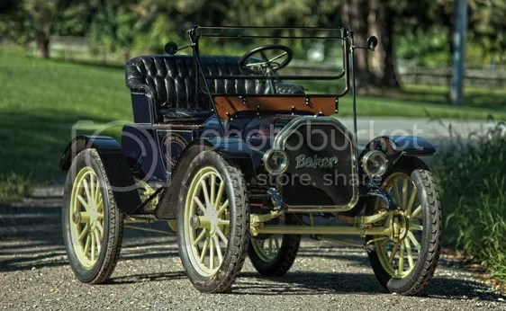 1912 Baker Electric Model W Runabout