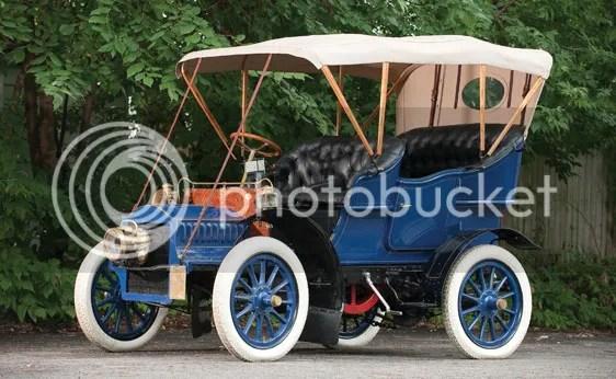 1904 Cadillac Model F Four-Passenger Touring