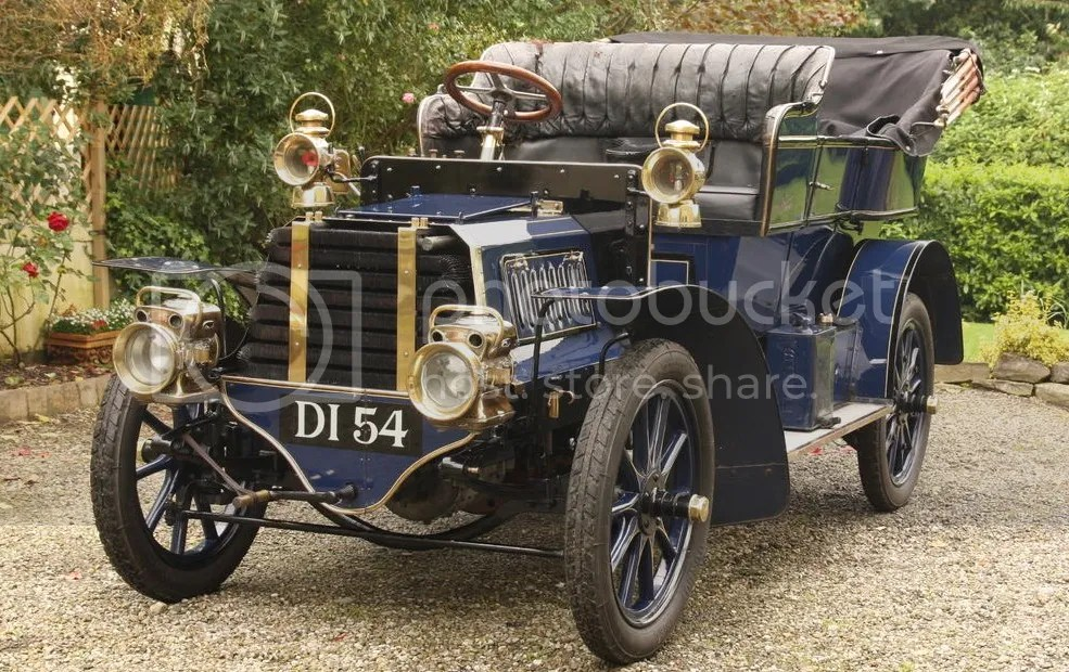 1903 Gladiator 10hp Twin-Cylinder Side-Entrance Tonneau