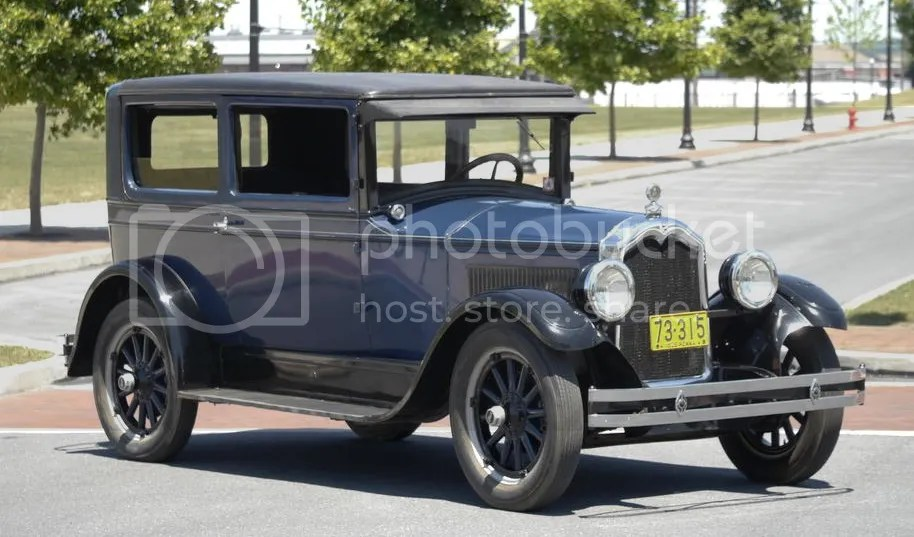 1926 Buick Standard Six Model 20 Two-Door Coupe