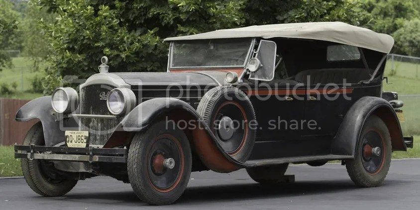 1928 Packard Series 4-43 7-Passenger Custom Eight Touring