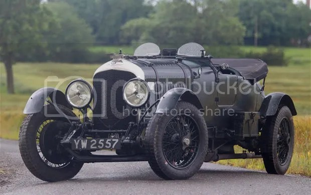 "1928 Bentley 4 1/2 Litre Le Mans Sports ""Bobtail"""