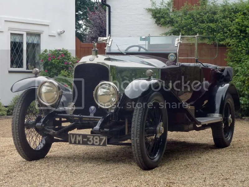 1920 Vauxhall 30/98 E-Type Tourer