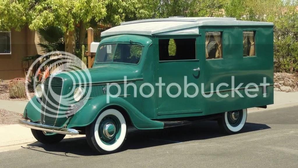 1937 Ford Housecar