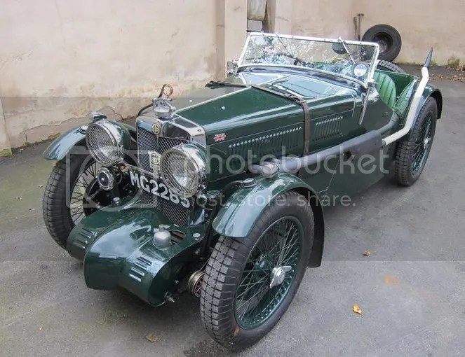 1933 MG J2/J4