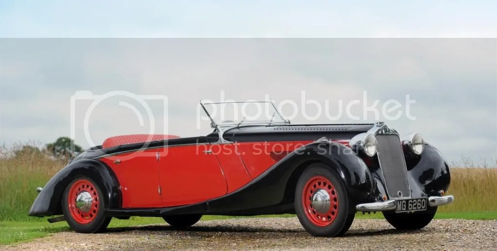 1938 Delage D6-70 Tourer  Coachwork by Coachcraft