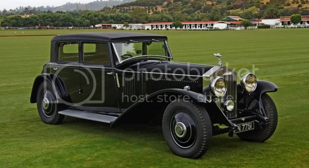 1931 Rolls-Royce Phantom II Continental Touring Saloon