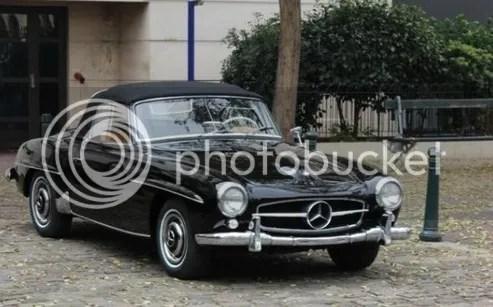 1957 Mercedes-Benz 190SL Roadster
