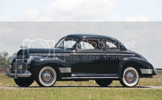 1941 Chevrolet Special DeLuxe Business Coupe