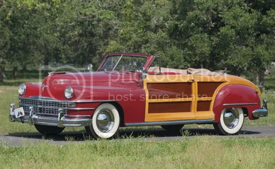 1946 Chrysler Town & Country Roadster