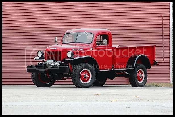 1952 Dodge Model B-3 Power Wagon