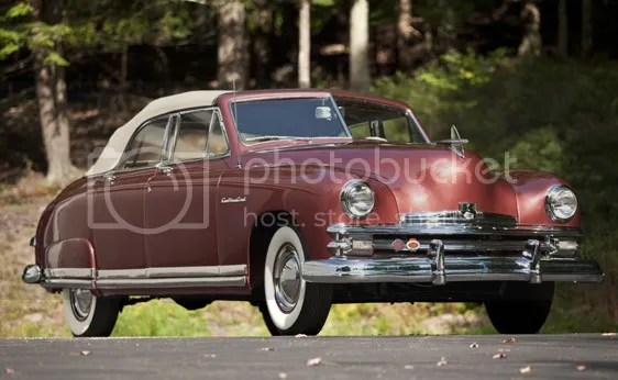 1949 Kaiser Deluxe Convertible