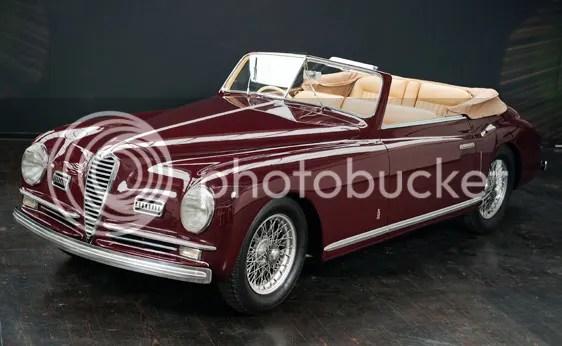 1948 Alfa Romeo 6C 2500 S Cabriolet by Pinin Farina