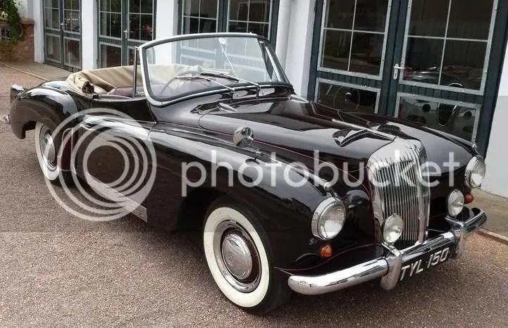 1957 Daimler Conquest 'New Drop-Head Coupé'