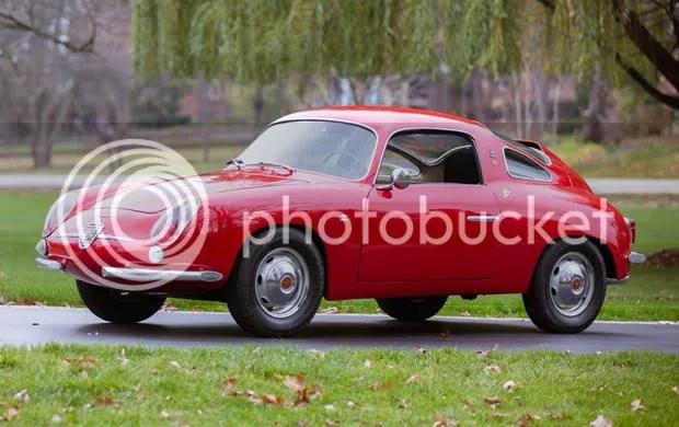 1960 Abarth 850 Record Monza