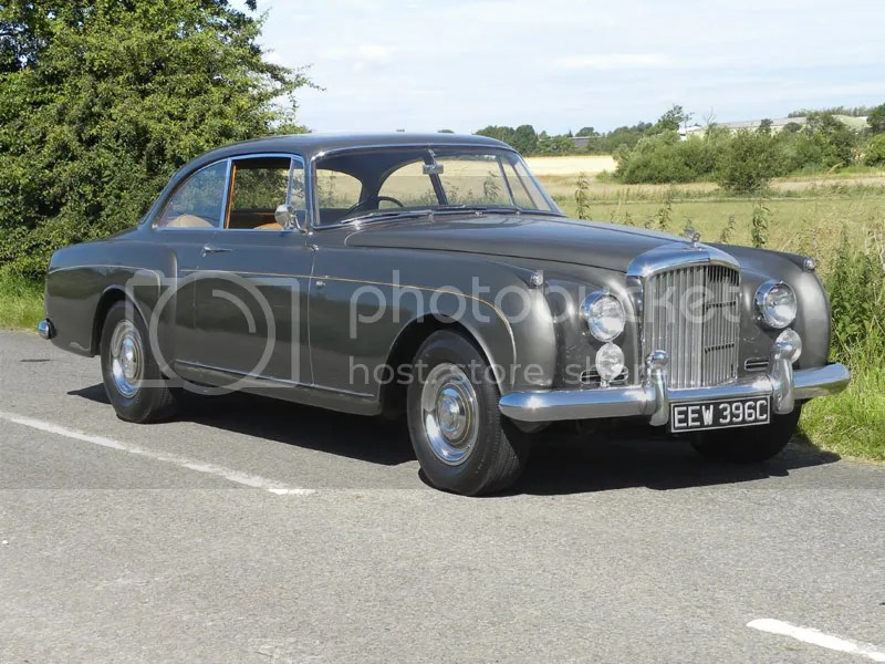 1961 Bentley S2 Continental H.J. Mulliner Saloon